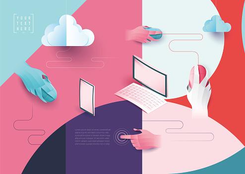 digital networking cloud computing