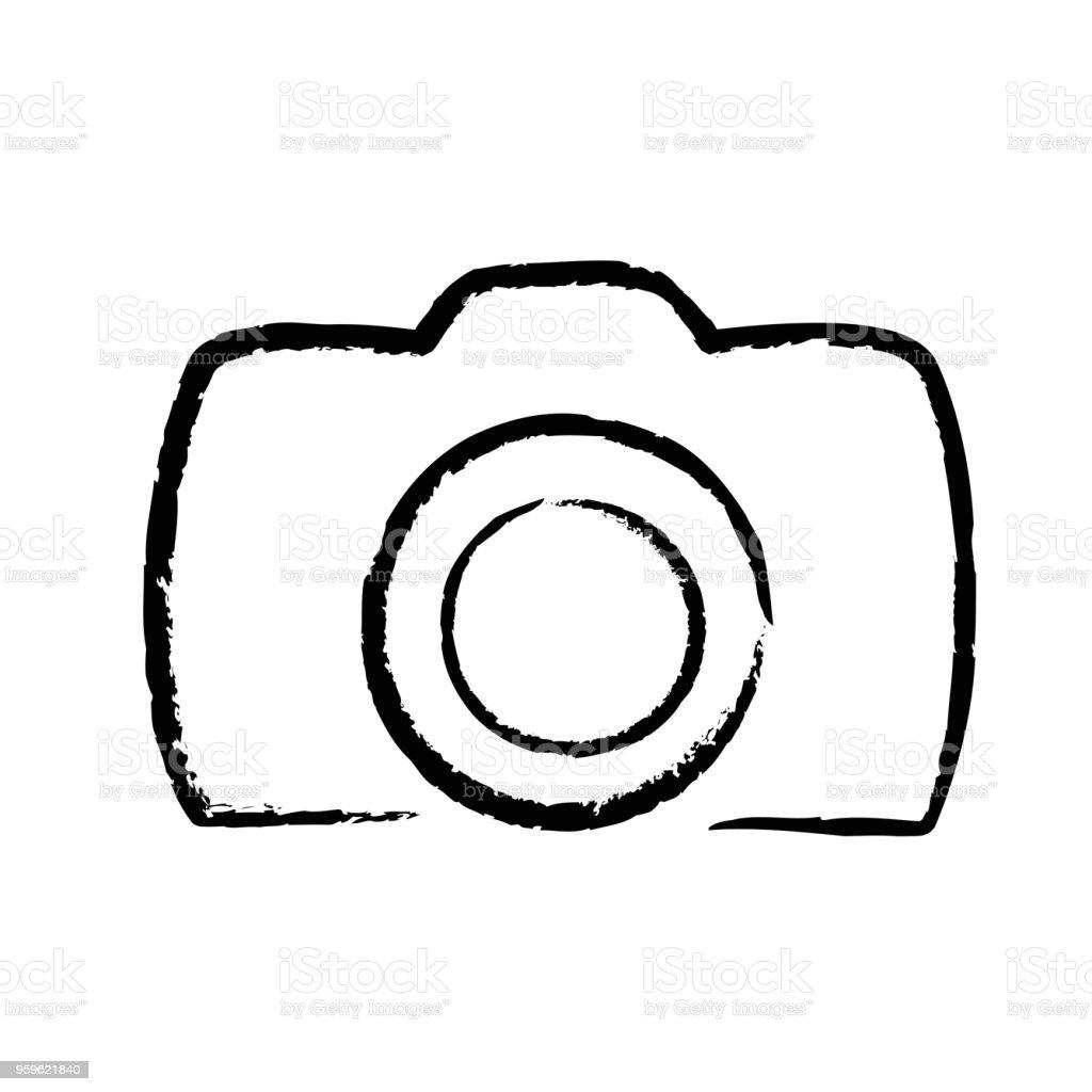 Photo Numerique Appareil Photo Main Dessin Icone Logo Illustration Vectorielle Stock Vecteurs Libres De Droits Et Plus D Images Vectorielles De Abstrait Istock