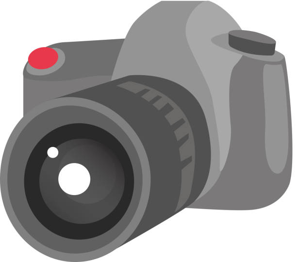 ilustraciones, imágenes clip art, dibujos animados e iconos de stock de ilustración de dibujos animados de fotos digital cámara vector - zoom call