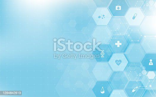 istock DNA digital, sequence, code structure with glow. Science concept and nano technology background. vector design. 1254842513