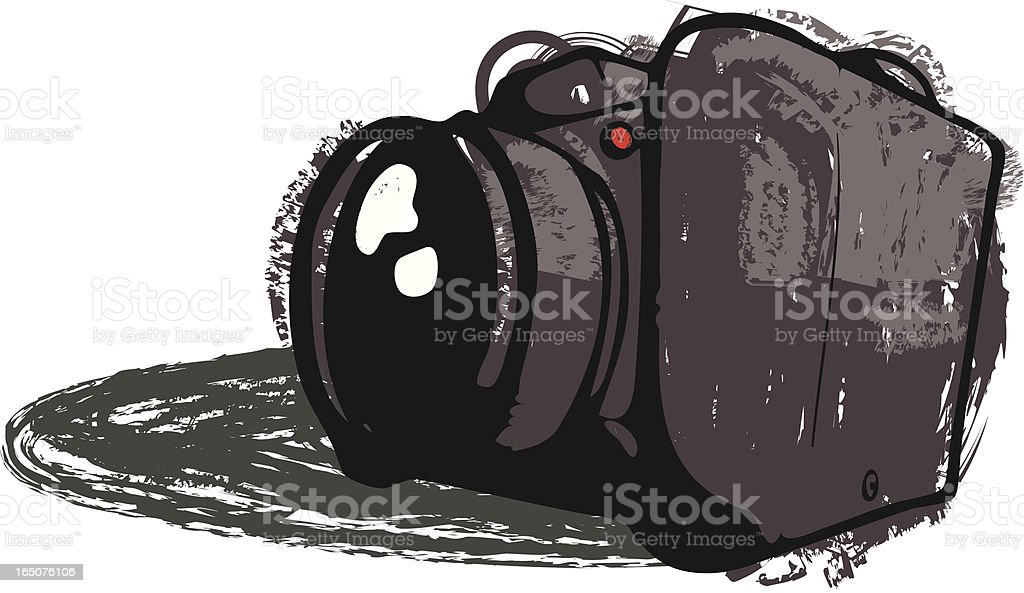 Digital SLR Camera royalty-free digital slr camera stock vector art & more images of art