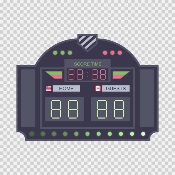 Basketball Scoreboard Illustrations, Royalty-Free Vector ... (612 x 612 Pixel)