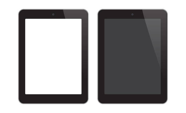 digital tablet - tablet pc stock-grafiken, -clipart, -cartoons und -symbole