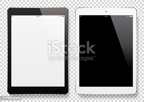 istock Digital Tablets with blank screen 1179509309