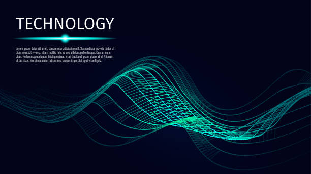 Digital technology background. Abstract connections. Futuristic sci-fi user interface concept with gradient. Big data, artificial intelligence, music hud. Blockchain and cryptocurrency. Vector Digital technology background. Abstract connections. Futuristic sci-fi user interface concept with gradient. Big data, artificial intelligence, music hud. Blockchain and cryptocurrency. Vector digitized stock illustrations