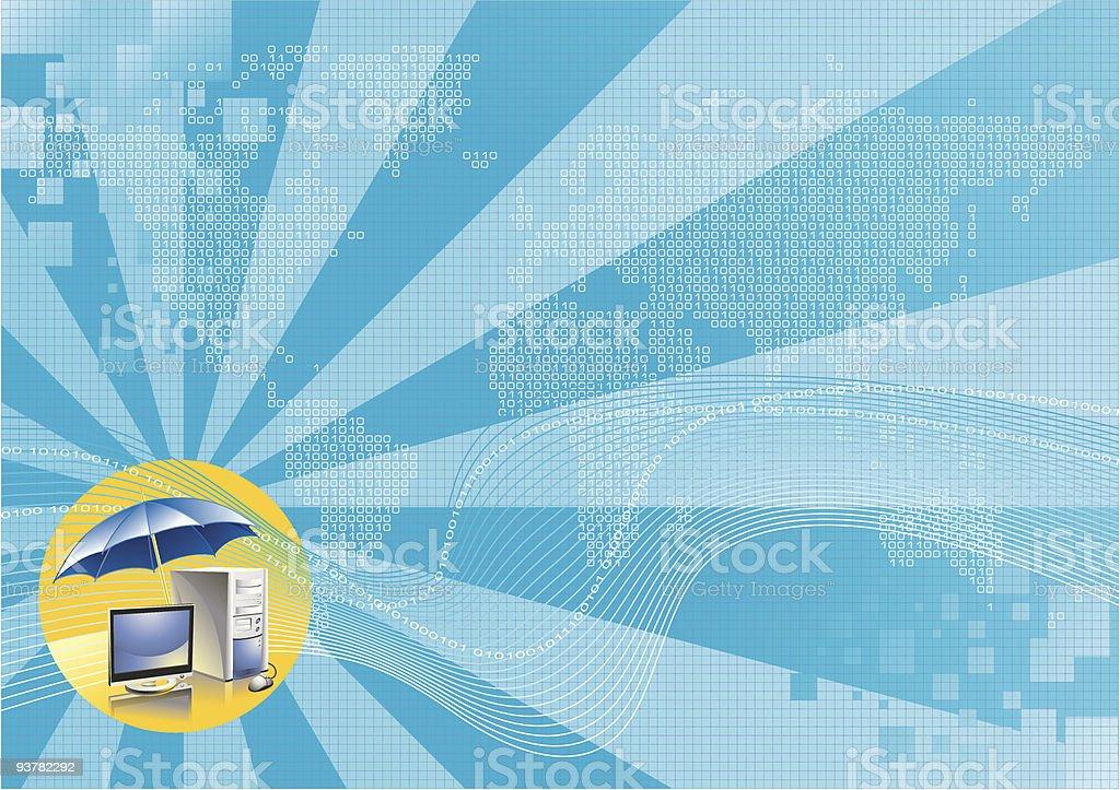 digital world royalty-free stock vector art