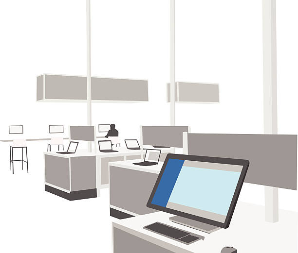 Royalty Free Computer Store Clip Art, Vector Images ...