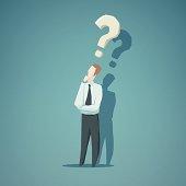 Dilemma of businessman
