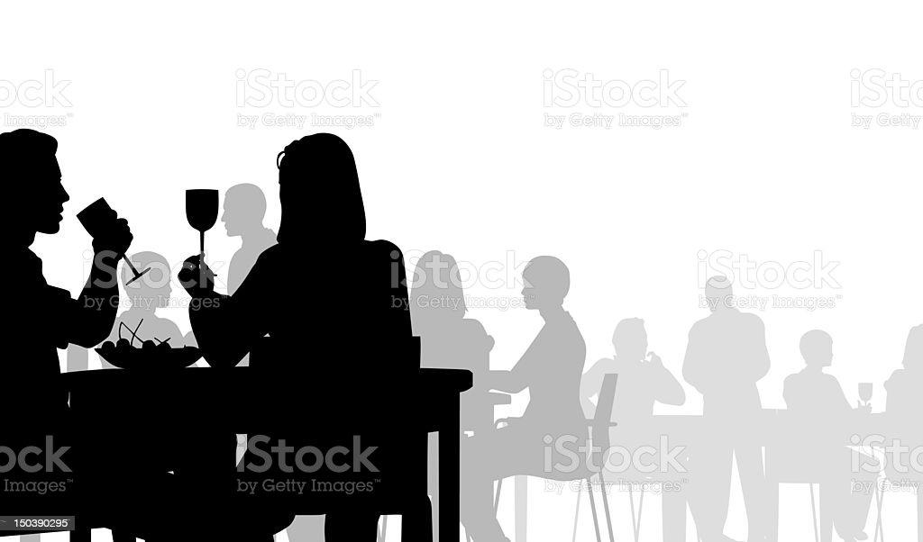 Diner vector art illustration