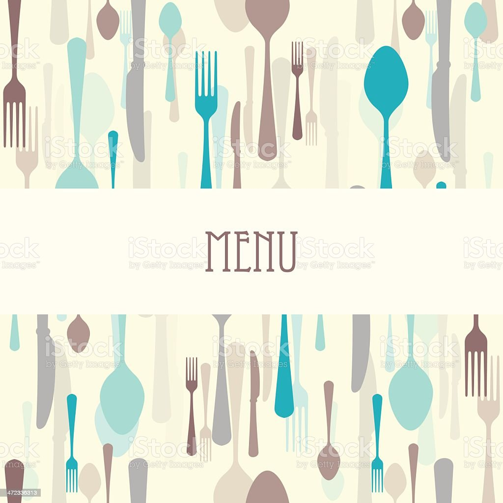 Dining Restaurant Menu royalty-free stock vector art