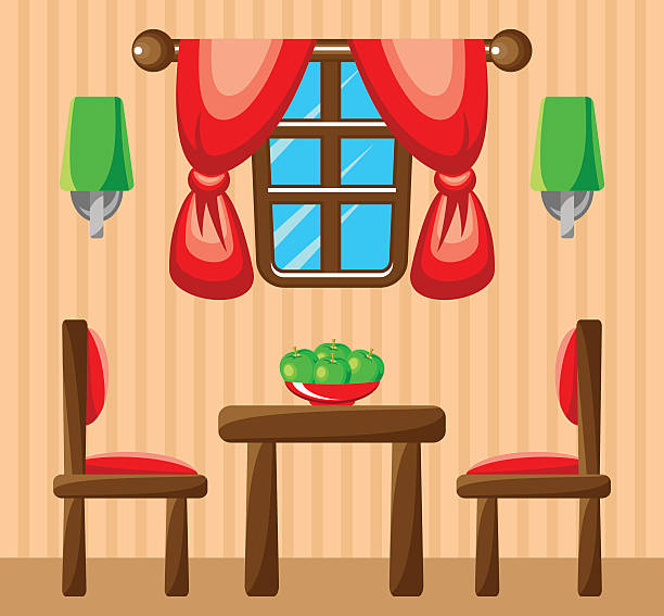 Royalty Free Dining Room Clip Art, Vector Images ...