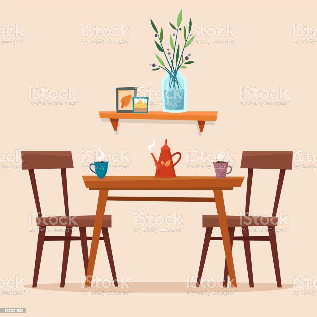 Encantador 1950 Mesa De La Cocina Del Cromo Motivo - Ideas de ...
