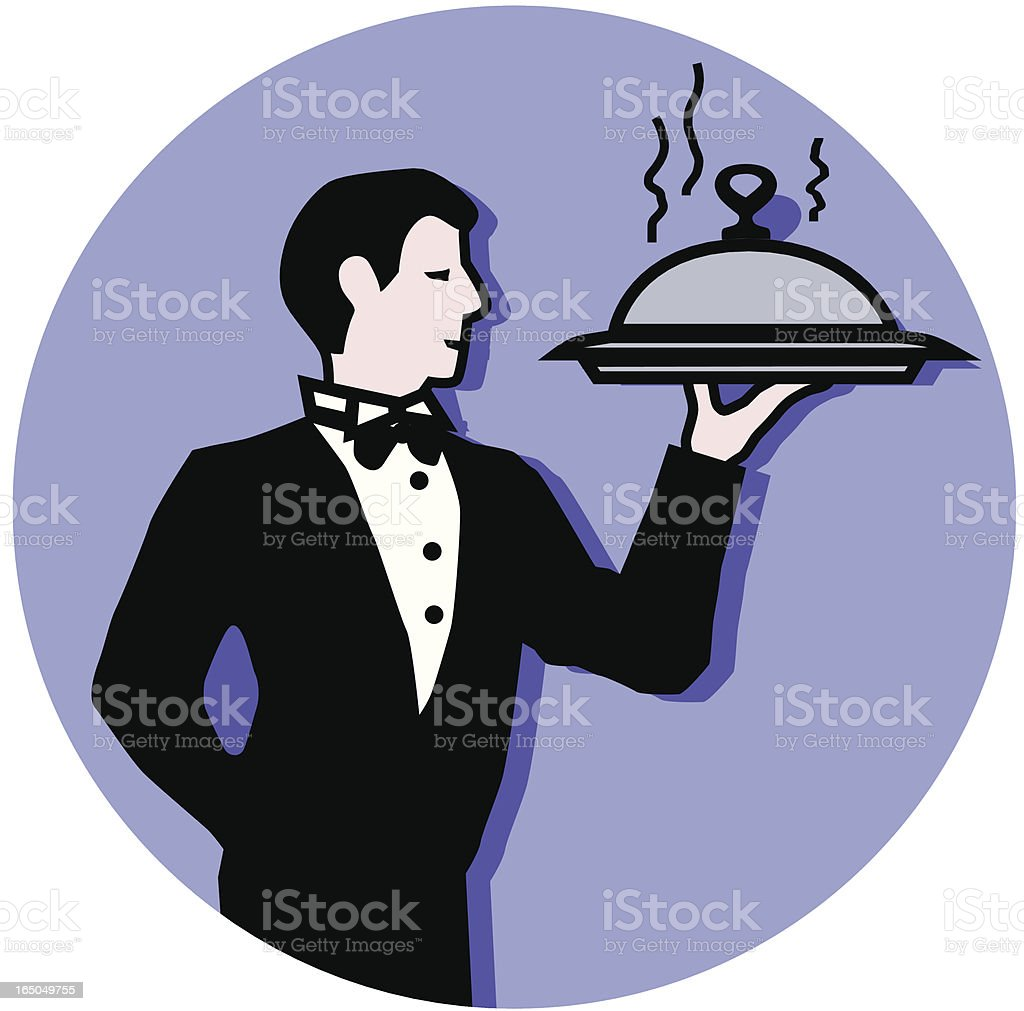 dinner is served royalty-free dinner is served stock vector art & more images of adult