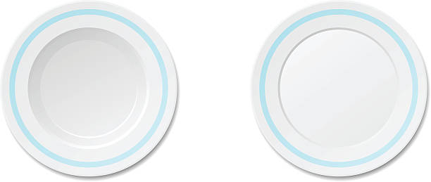 Dinner Plate Dinner Plate , EPS file version 10.Contains transparent objects  serving dish stock illustrations
