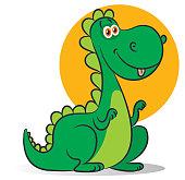 Vector Dinosaur Characters