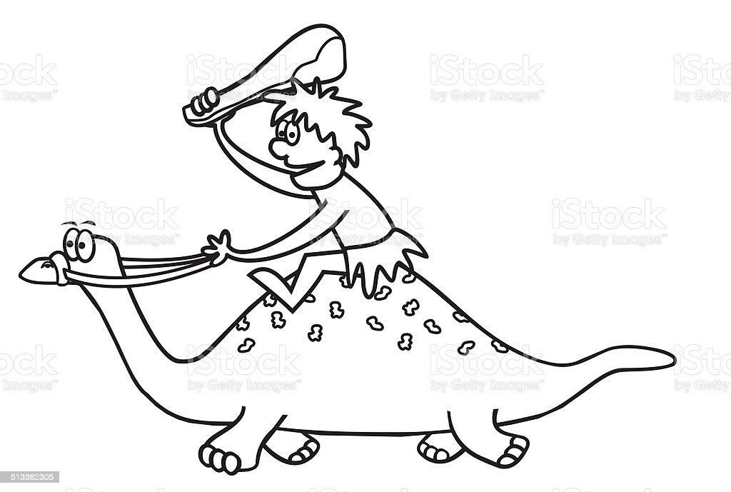 Dinosaur Coloring Book Stock Illustration Download Image Now Istock