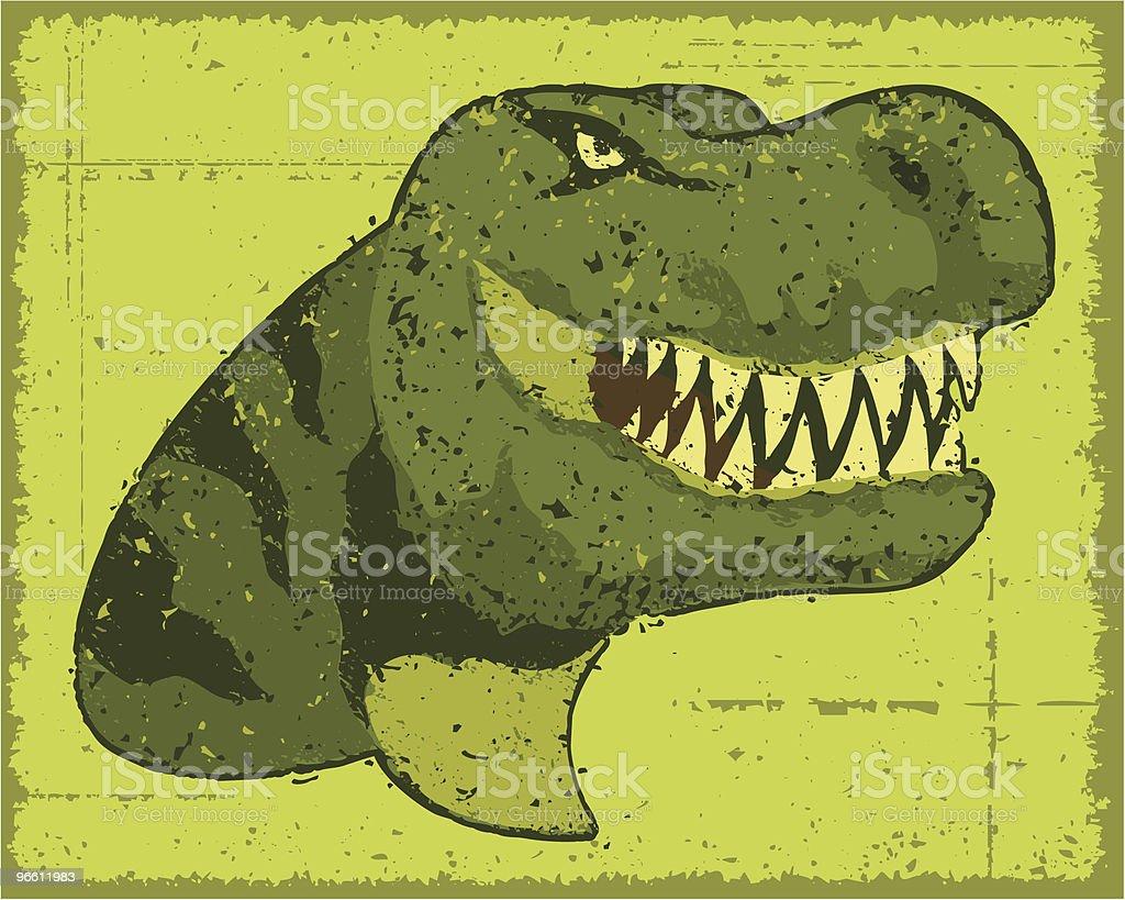 Динозавр Руководитель - Векторная графика Без людей роялти-фри