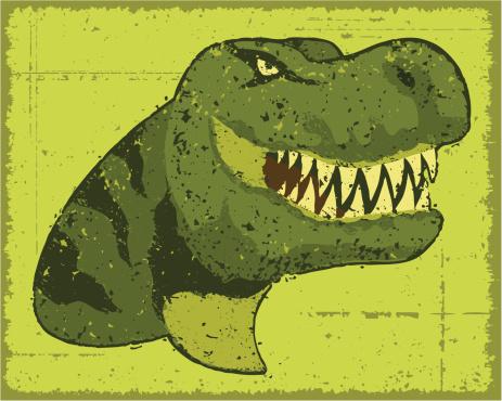 Dinosaur Head-vektorgrafik och fler bilder på ClipArt