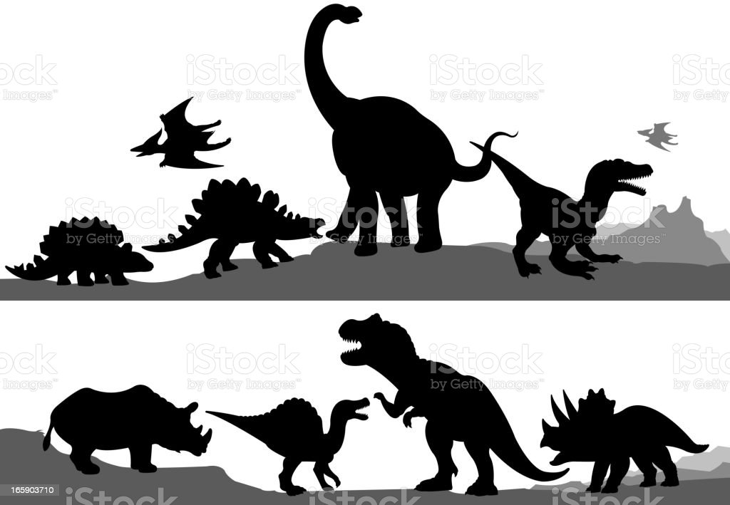 Image Result For Dinosaur Silhouette T Rex