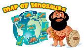 Dinosaurs map