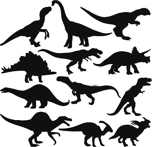 Des dinosaures - Illustration vectorielle