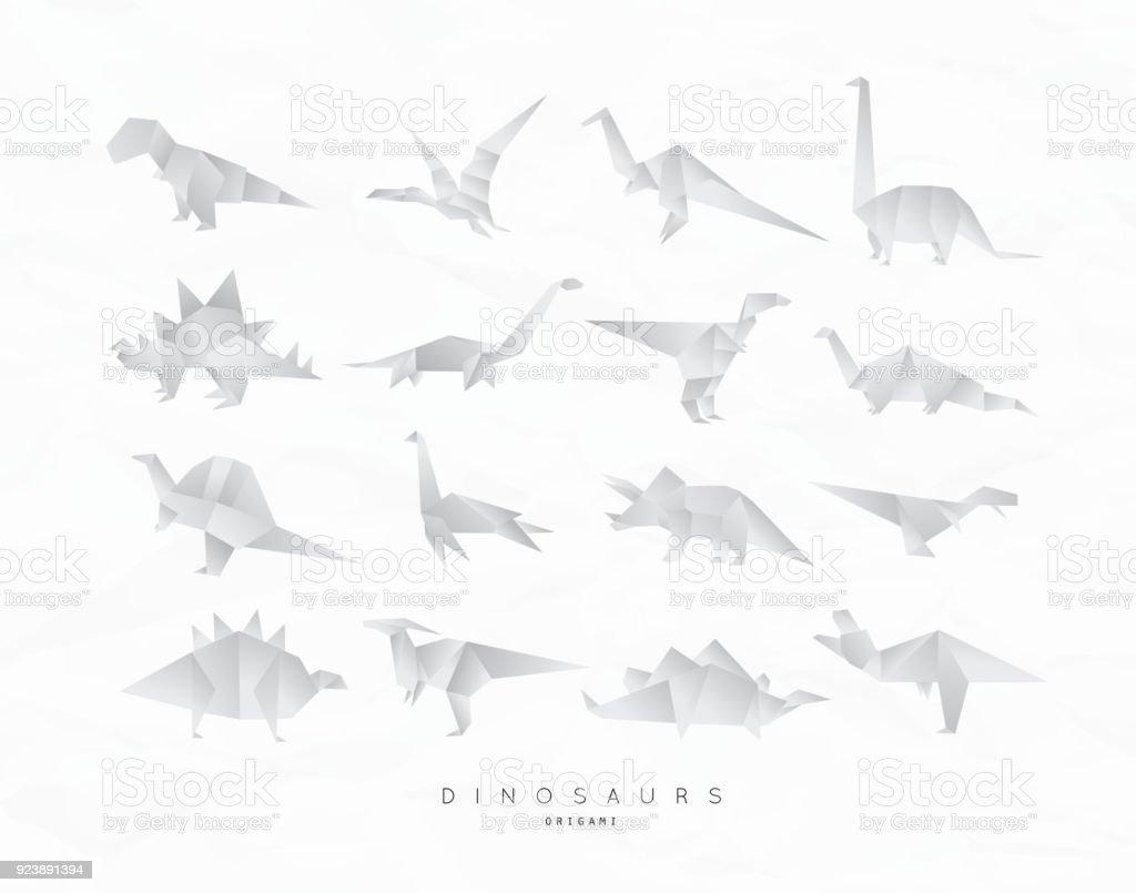 Dinosaurus origami set stock vector art more images of animal dinosaurus origami set royalty free dinosaurus origami set stock vector art amp more images jeuxipadfo Choice Image