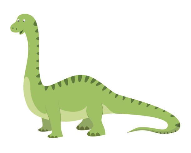 Top 60 diplodocus clip art vector graphics and illustrations istock - Dessin de diplodocus ...