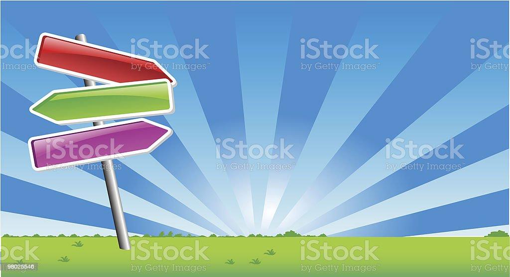 Le frecce di direzione le frecce di direzione - immagini vettoriali stock e altre immagini di bacchetta royalty-free