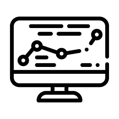 direction map railway line icon vector illustration