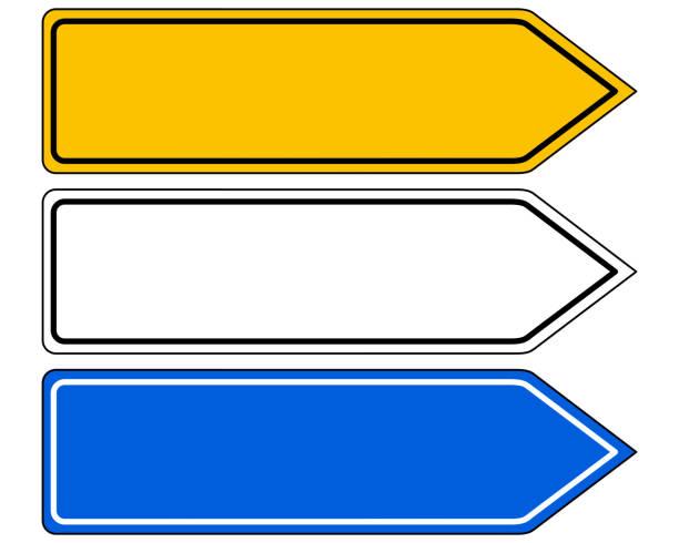 方向指示標誌 - 方向標誌 幅插畫檔、美工圖案、卡通及圖標