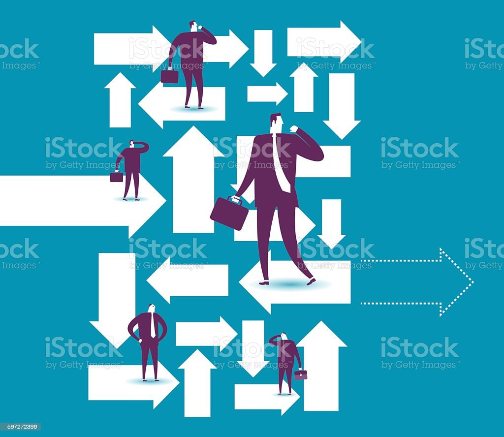 Direction royalty-free direction stock vector art & more images of abstract