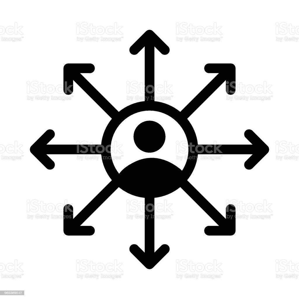 directions directions - stockowe grafiki wektorowe i więcej obrazów abstrakcja royalty-free