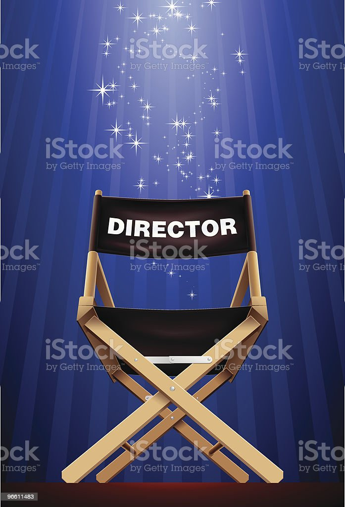 director - Royalty-free Absence stock vector