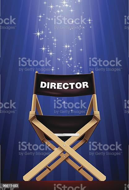 Director - Arte vetorial de stock e mais imagens de Arte, Cultura e Espetáculo