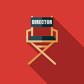 Director's Chair Movie Icon