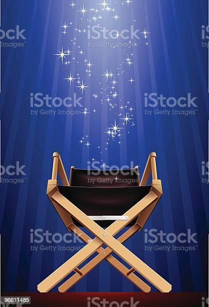 Directors Chair-vektorgrafik och fler bilder på Auktoritet