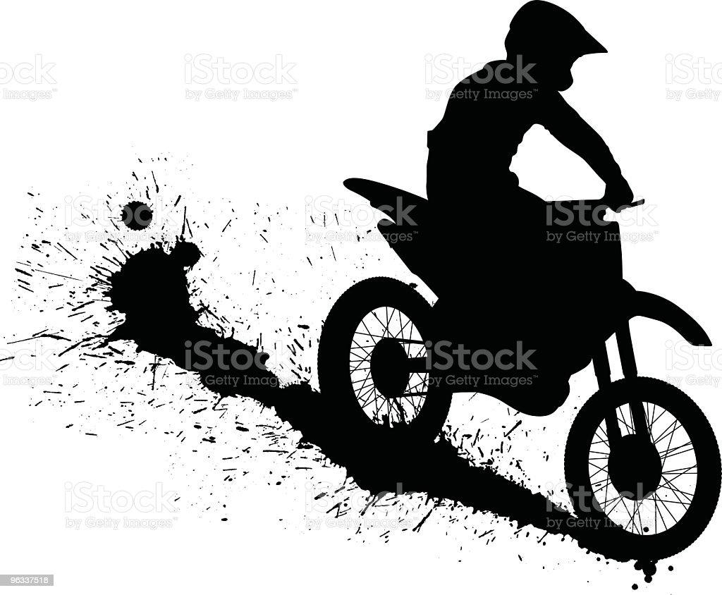 Dirtbike ~ Vector vector art illustration