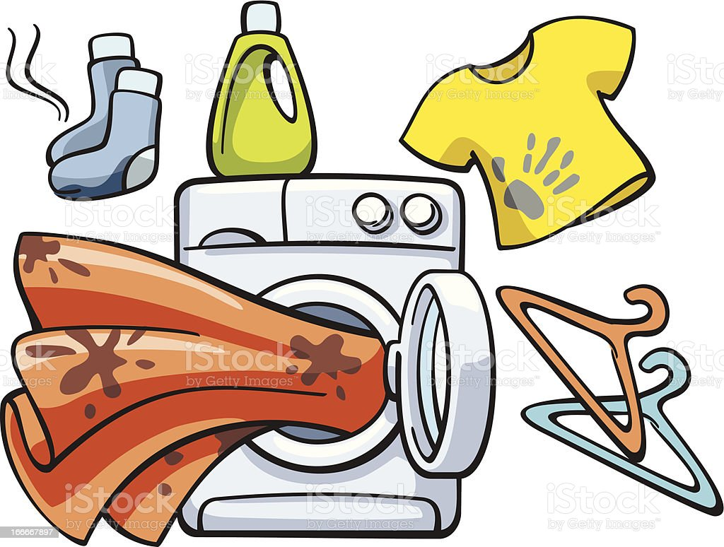 royalty free smelly laundry clip art vector images illustrations rh istockphoto com laundry clipart images free laundry clipart images