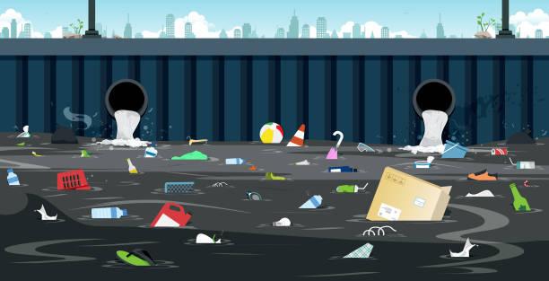 ilustraciones, imágenes clip art, dibujos animados e iconos de stock de tubo sucio - storm