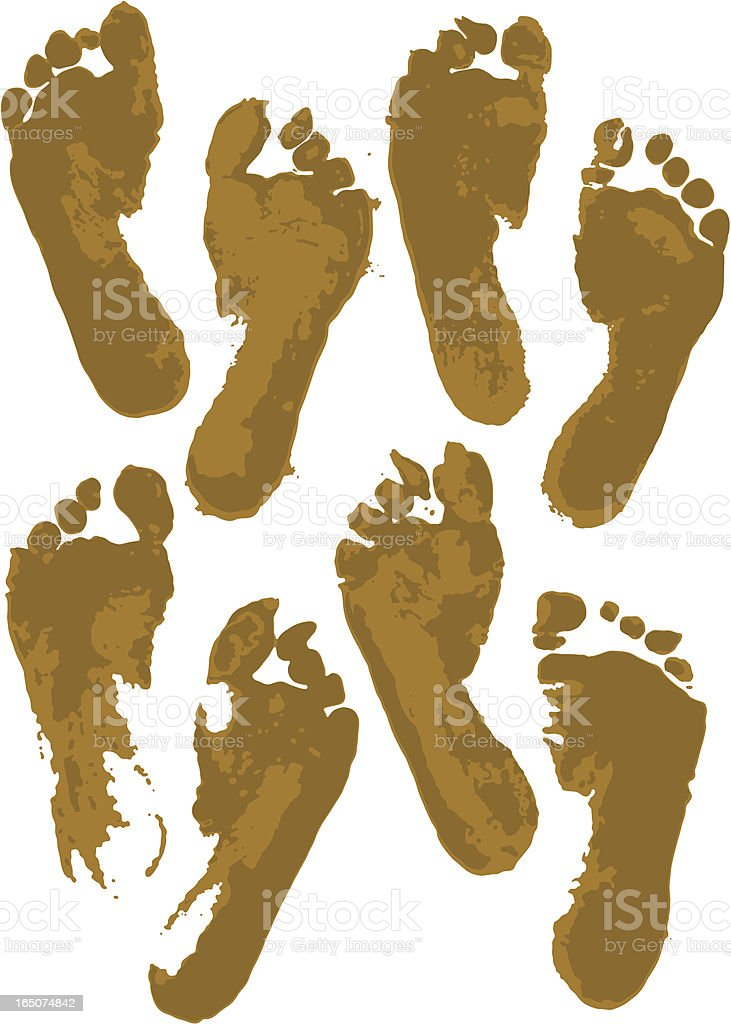 Dirty Feet royalty-free dirty feet stock vector art & more images of chaos