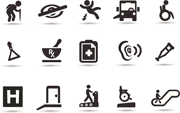 アクのシンボル - 老年医学点のイラスト素材/クリップアート素材/マンガ素材/アイコン素材