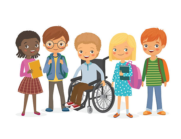 Best Special Needs Children Illustrations, Royalty-Free ...