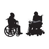 Disabled Elderly Friends