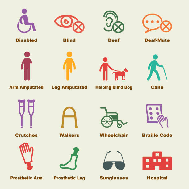 Best Disability Illustrations, Royalty-Free Vector ...
