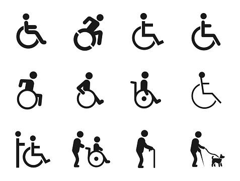wheelchair transportation stock illustrations