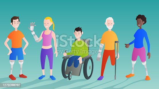 Disabled men and women community