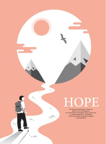 seyahat eden engelli insanlar. - optimistic stock illustrations