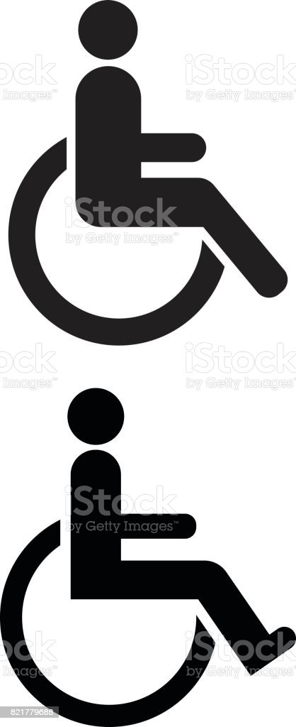 Disabled Symbol Stock Vector Art More Images Of Accessibility