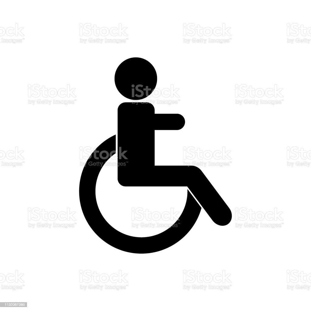 disabled vector icon gender icon stock illustration download image now istock https www istockphoto com vector disabled vector icon gender icon gm1132067385 299963586