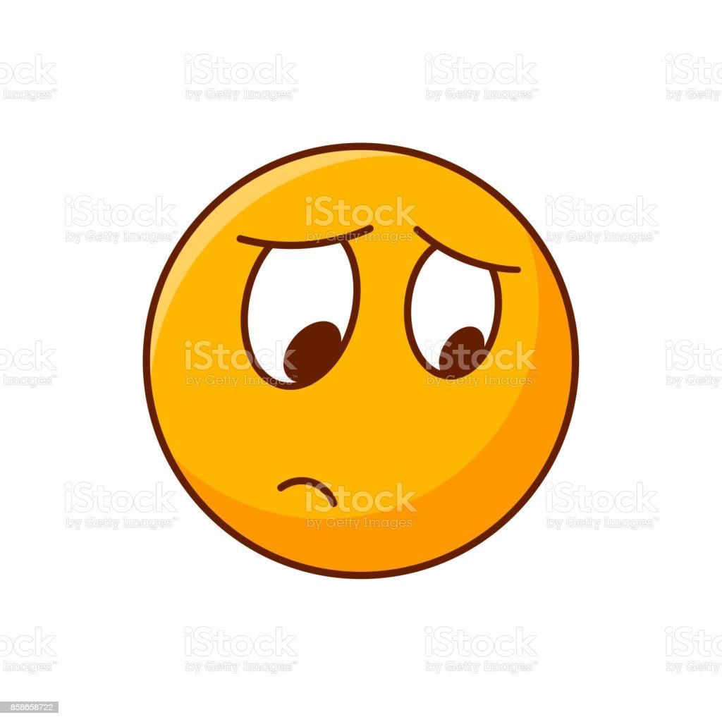 disappointed emoji vector emoticon yellow smiley stock vector art rh istockphoto com smiley vectoriel gratuit smiley vectoriel gratuit